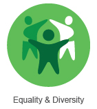 Equality and Diversity button